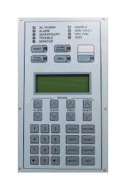 edwards est 2 lcd fire alarm display