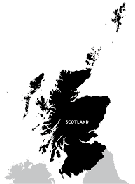 British Isles Map Blank by Scotland Outline Map Royalty Free Editable Vector Map Maproom