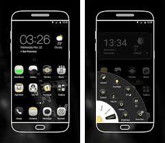 black apk electric black launcher theme apk version 5 0 8