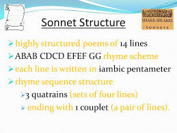 what is a shakespearean sonnet ppt video online download