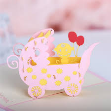 blessing baby aliexpress buy doreenbeads creative 3d cards invitations