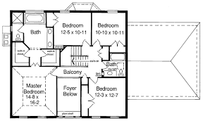 colonial floor plans classic colonial 3992st architectural designs house plans