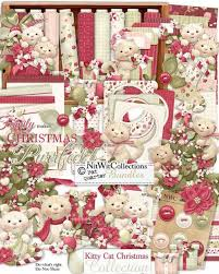 christmas collections fqb cat christmas collection nitwit digital kits