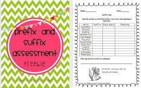 teaching prefixes and suffixes and a freebie everyone deserves