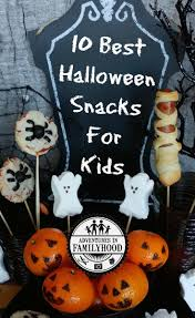 10 easy go to halloween snacks that will make your kids scream