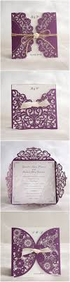 brides wedding invitation kits invitations brides wedding invitation kits purple wedding