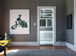 gray painted rooms gray walls contemporary living room behr squirrel design