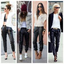 best 25 leather joggers ideas on pinterest leather jogger pants
