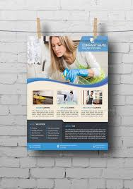 brochure cleaning service brochure template