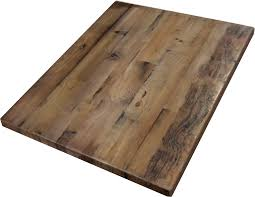 reclaimed wood restaurant table tops reclaimed wood straight plank table tops economy restaurant