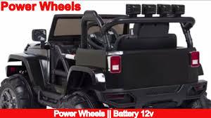 power wheels wheels jeep wrangler power wheels battery 12v toys r us youtube