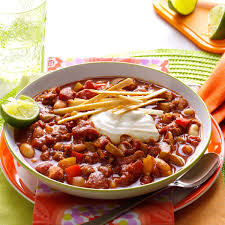 slow cooker lime chicken chili recipe taste of home