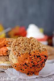 Rice Crispy Treat Pumpkins Pumpkin Spice Rice Krispie Treat S U0027mores Beyond Frosting