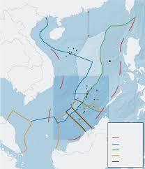 South China Sea Map The South China Sea Dispute Wsj Com