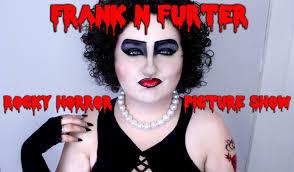 rocky horror dr frank n furter halloween costume makeup