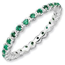 mothers infinity ring stackable mothers rings birthstone eternity rings