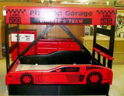 Cars Bedroom Set Full Size Cool Corvette Kids Beds For Car Lovers Kid Room Wevhat Large Beige