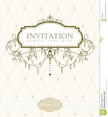 free invitation cards invitation card template stock vector illustration of chandelier
