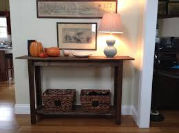 Console Entry Table Ana White Entry Table Diy Projects