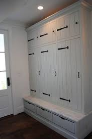 this with sliding doors makes a dual duty banquette and wardrobe