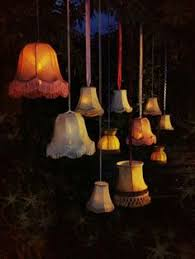 super cute diy lampshade lights great for summer entertaining