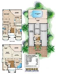 House Plans With A Pool House Plan Interior Design Mediterranean House Plans With Pool