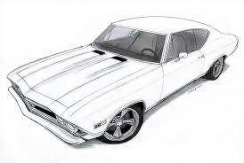 car in d images pencil drawings of muscle cars for ue car in d