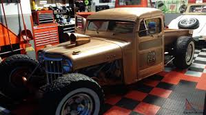 slammed willys jeep willys rat rod on gold metallic trim cars pinterest rat rods