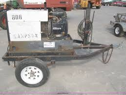 hobart champion 8500 dc cc welder generator item f7282 s