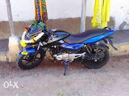 view layout alloy 2017 bajaj pulsar 8999 kms bengaluru motorcycles green view layout