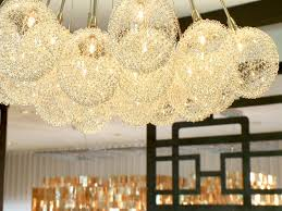 Gold Glass Chandelier Gold Glass Bubble Chandelier U2013 Home Decoration Ideas How To Make