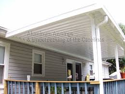 Deck Canopy Awning Aluminum Awnings Of The Carolinas Aluminum Patio Cover Aluminum