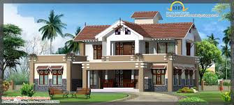 house design at kerala top bedroom 3d exterior house design at 1845 sq home ideas