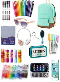 high school stuff 28 best images about supplies for school on bags