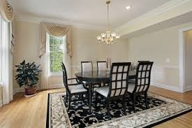 Dining Room Area Rug Ideas by Elegant Dining Room For Romantic Dinner 2017 Including Black And