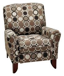 lola high leg recliner with contemporary casual style high and