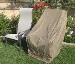Patio Chair Cover Premium Tight Weave Patio Hi Back Chair Covers With
