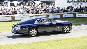 rolls royce sport 2017 rolls royce sweptail was in no hurry at goodwood fos