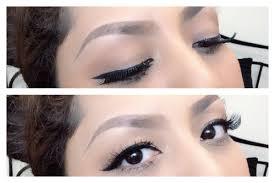 tutorial alis mata untuk wajah bulat tips memakai eyeliner bulu mata palsu update cara membentuk alis