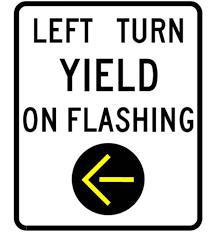 A Flashing Yellow Signal Light Means Nddot Flashing Yellow Arrow