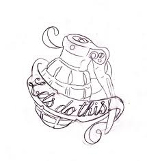 call of duty grenade tattoo by nevermore ink on deviantart
