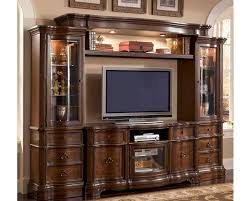 Wall Units by Wall Unit In Classic Cherry Finish Mcfe9100