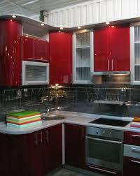 red and white kitchen design decor et moi