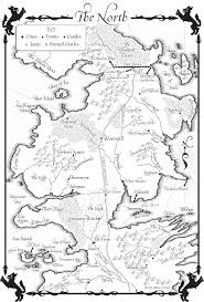 Map Of Essos A Dance With Dragons Map Of The North A Wiki Of Ice And Fire