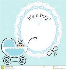 it s a boy decorations baby card its a boy theme stock vector illustration of lace