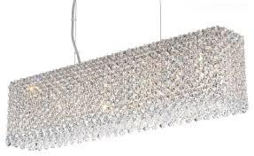 Schonbek Pendant Lighting Schonbek Re2506 Refrax Contemporary 7 Light Halogen Pendants