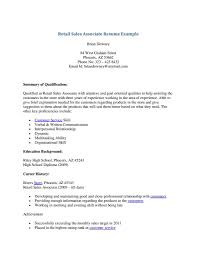 Resume Examples Skills by Good Resume Sales Associate Skills Samplebusinessresume Com