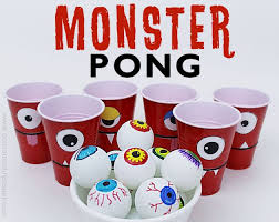 pong printables and