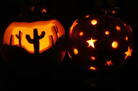 decoration incredible picture of stencil stars spider pumpkin