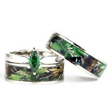 camo wedding bands his and hers camo rings ebay
